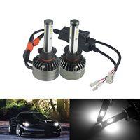 ANGRONG 2x H1 CSP LED 72W 9000LM Conversion Headlight Fog Light Bulb White 6500K
