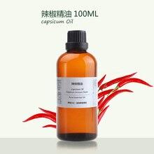 wholesale 100ml capsicum essentail oil