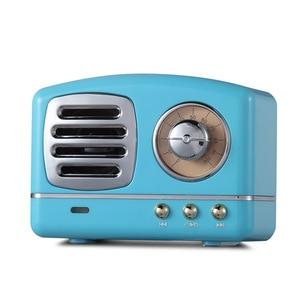 Image 3 - Haut parleur radio Bluetooth nordique rétro Mini haut parleur Bluetooth sans fil Portable Radio USB/TF carte lecteur de musique Subwoofer decore