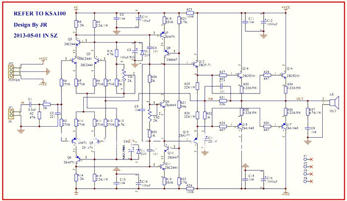 2sc5200 2sa1943 amplifier circuit circuit diagram images 2sc5200 power amp circuit diagram 2sc5200 2sa1943 amplifier circuit diagram pdf