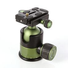 """מקצועי 20KG מתכת כבד החובה מצלמה חצובה כדור ראש w/ QR שחרור מהיר צלחת 1/4 """"בורג SYS 90"""