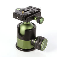Professional 20KG Metal Heavy Duty Camera Tripod Ball Head w/ QR Quick Release Plate 1/4Screw SYS 90