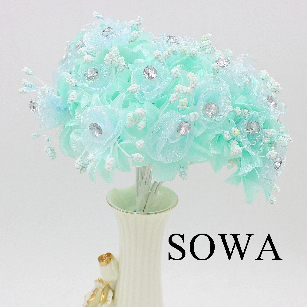 12pcslot length 110mm white mulberry fabric flower bouquetwire 12pcslot length 110mm white mulberry fabric flower bouquetwire stem wedding decoration scrapbooking artificial fabric flower in artificial dried izmirmasajfo