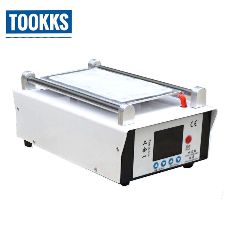 2 In1 Electrical LCD Screen Separator Middle Frame Separate Machine Heating Plate For LCD Frame Remove For IPhone Samsung Repair