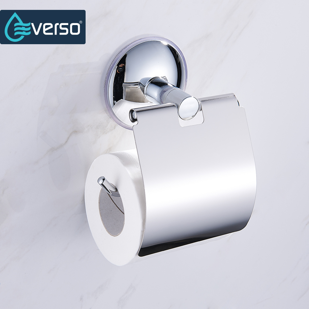 Wall Mount Toilet Paper Holder Stainless Steel Bathroom kitchen roll ...