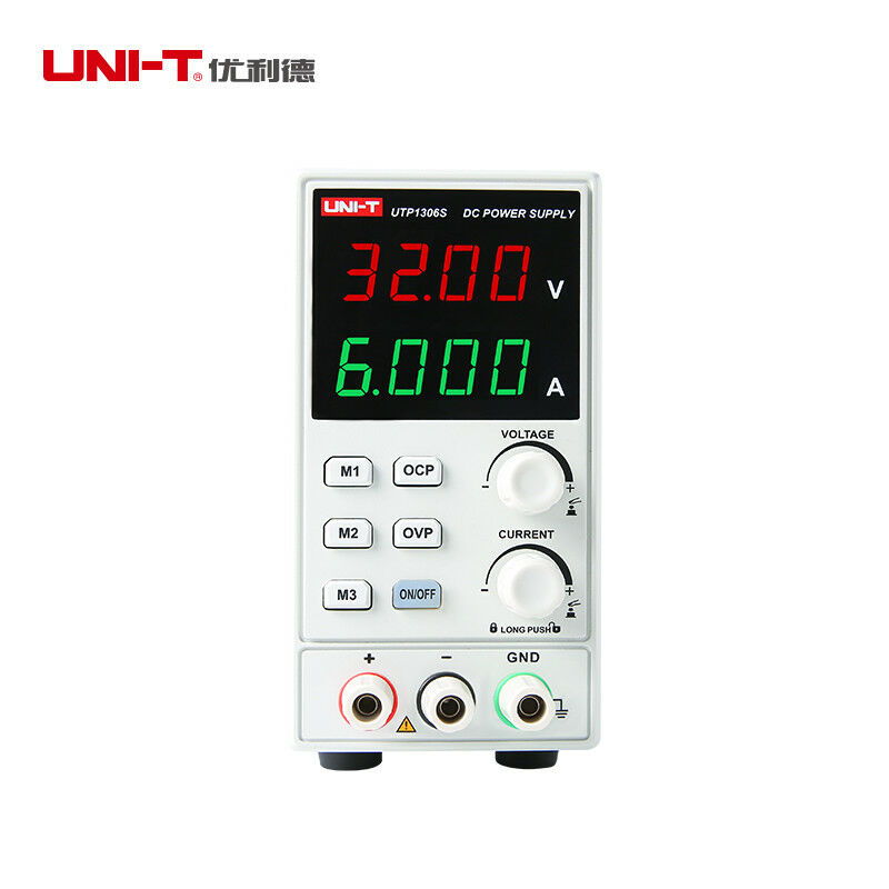 Image 3 - UNI T UTP1306S Adjustable DC Power Supply Single AC 32V/6A 4Bits 220V input OVPVoltage Meters   -