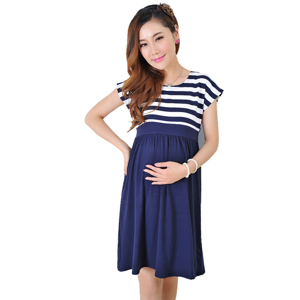 Maternity Dresses Summer For Pregnant Clothes Pregnancy Women Dress Clothing Mother Home Clothes L/XL/XXL Summer Maternity Dress