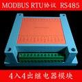 Modbus RTU протокол 4 на четыре RS485 управления вход и выход плк модули