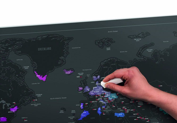Քարտեզի նոր սև քաղաք - Տնային դեկոր - Լուսանկար 2