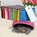 Hot Sale Fashion New Women's Bag 10 Colors Multi Plaid Patterns Square Style Mobile Phone Bags Zipper Coin Purse Wallet Women