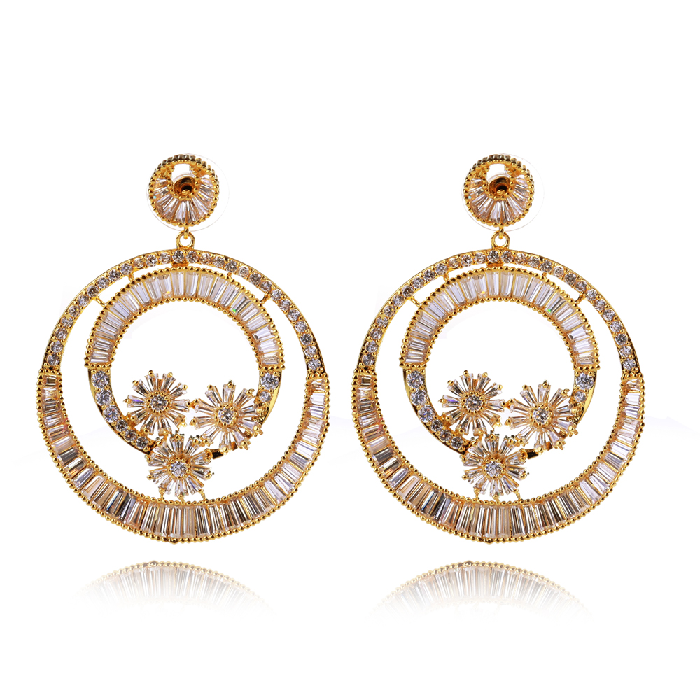 Aliexpress.com : Buy Latest Luxury Women Earrings Wedding Party ...
