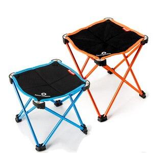 Image 2 - Садовые стулья, переносные, складные, для рыбалки, кемпинга, из алюминиевого сплава, Oxford, 2 размера