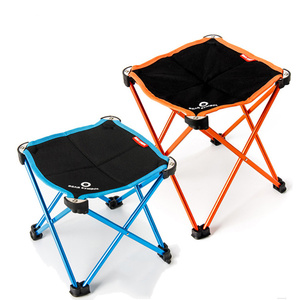Image 2 - Bahçe Sandalyeleri Taşınabilir Açık Balıkçılık katlanır kamp sandalyesi Oxford Alüminyum Alaşım Plaj Seyahat Katı Küçük Koltuk 2 Boyutları