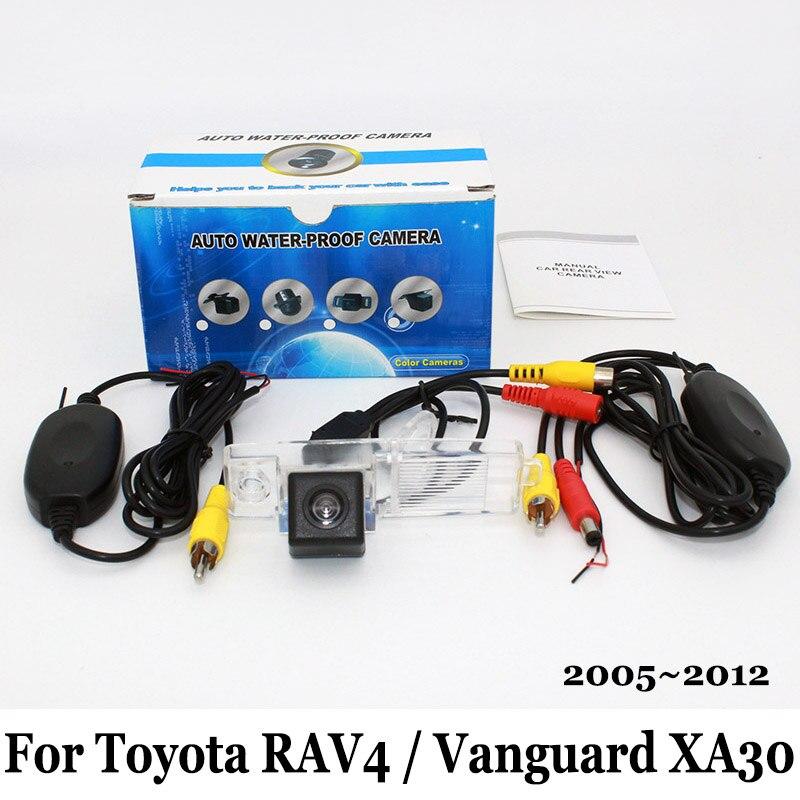 For Toyota RAV4 Vanguard XA30 2005 2012 NO Spare Wheel On Door  RCA Wire Or