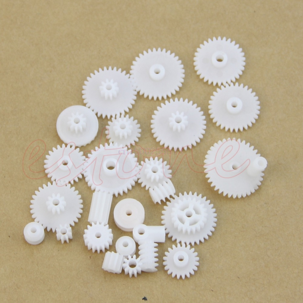 34 kinds of Plastic gear rack pulley belt Worm gear Single double gear teeth new