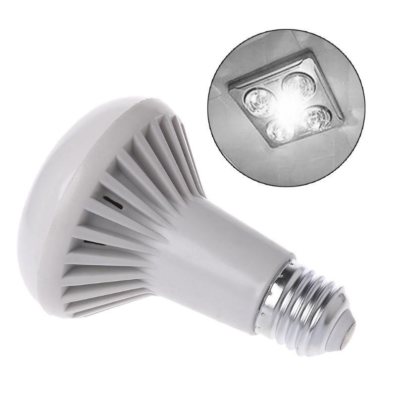 AC 85-265V E27 LED Mushroom Light R80 9W/12W Warm White Cold Light Bulb New цены