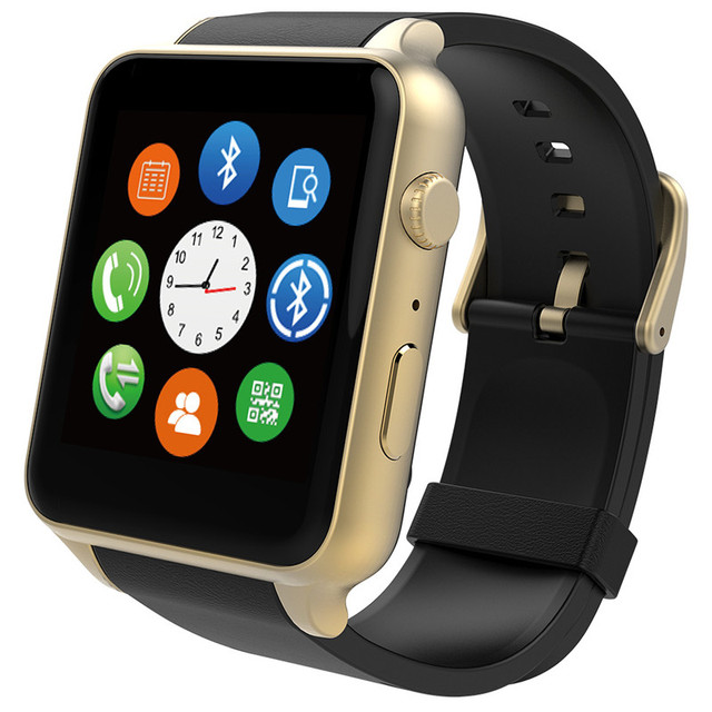 kingwear smartwatch GT88 with heart rate monitor sim/tf card MTK250C IP57 waterproof for apples watch ios Android