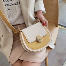 ETAILL 2019 Fashion Panelled Summer Bags High quality PU Leather Women Bag Contrast Color Lady Tote Shoulder Messenger