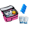 Insulated  lunch box  thermo bag combination of sales Cooler Bags / Lunch Bag / Breast Milk Fresh Bag