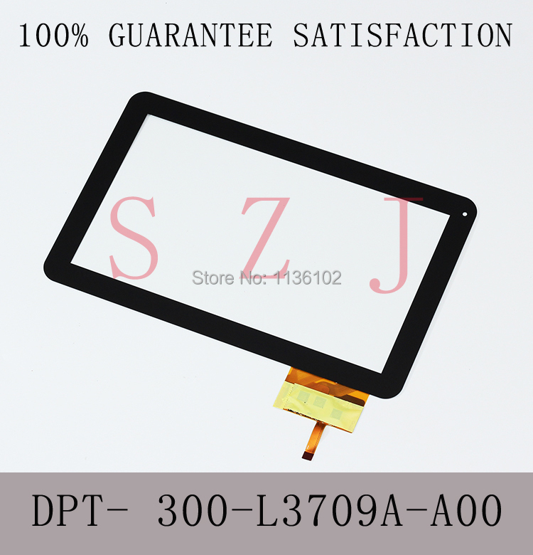 (Ref:DPT- 300-L3709A-A00) 10.1 inch LCD touch panel LCD touch digitizer glass for tablet PC MID Free shipping