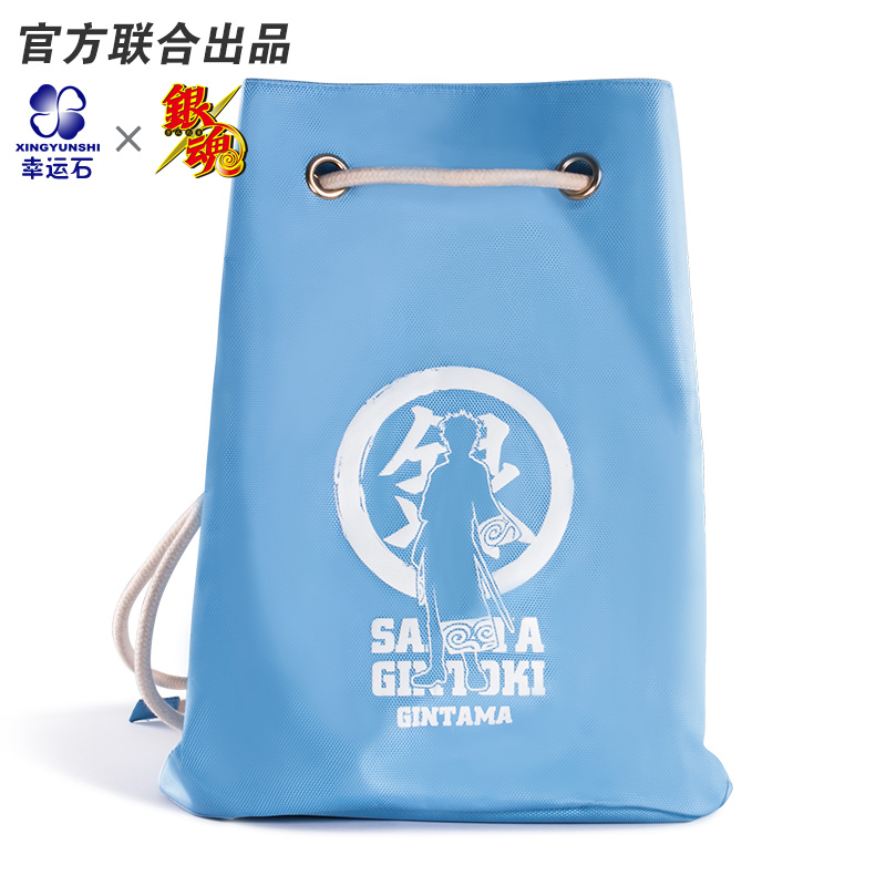GINTAMA Shoulder Bag Anime Backpack Drawstring Bags Cartoon Character Gintoki Elizabeth Comics Official Student Outdoor For Kids new anime kill la kill matoi ryuuko backpack shoulder student bags free shiping