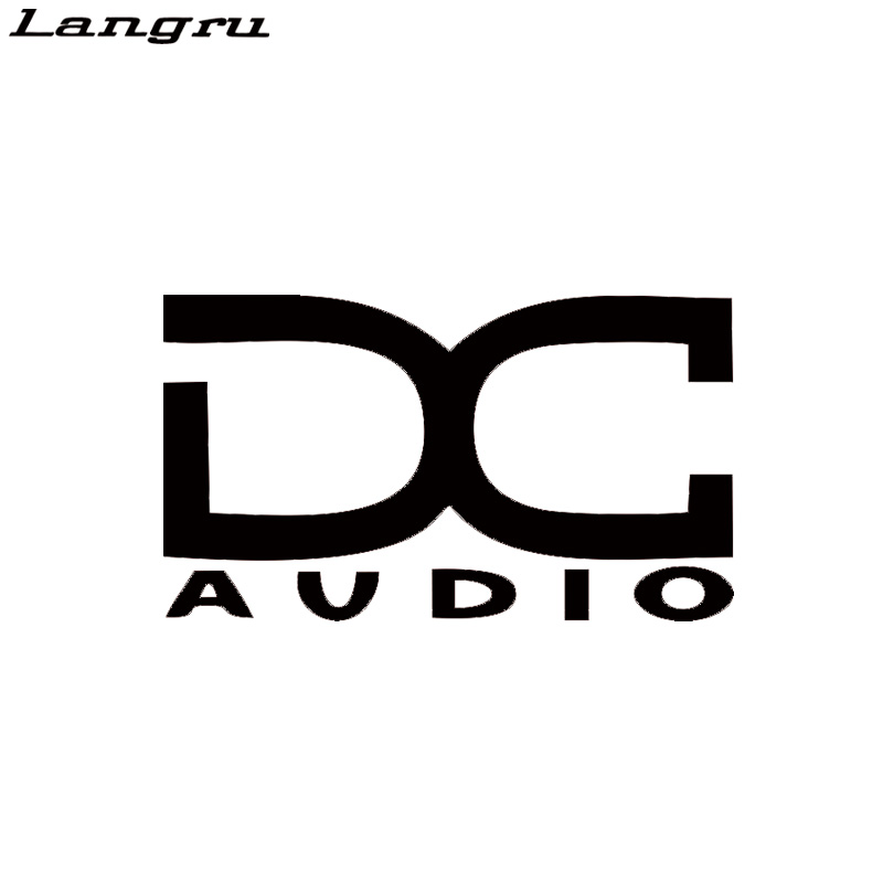 Langru New Style Dc audio Vinyl Car Audio Speakers Stereo