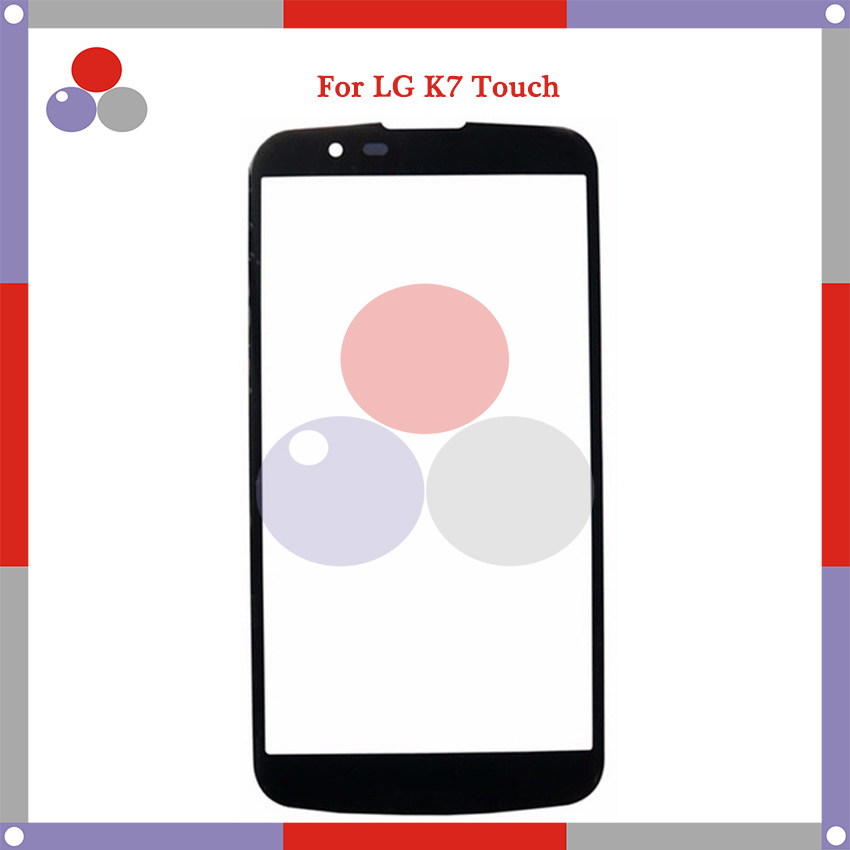 High Quality For <font><b>LG</b></font> <font><b>K7</b></font> X210 <font><b>X210DS</b></font> MS330 Touch Panel <font><b>Glass</b></font> Front <font><b>Glass</b></font> Lens Screen image