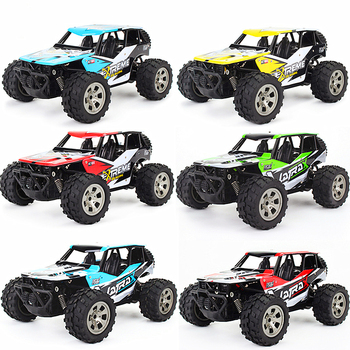 RC Cars 2.4GHz 1:18 RC Car RTR Shock Absorber PVC Shell Off-road Race Vehicle Buggy Electronic Remote Control Car Toy High Spped