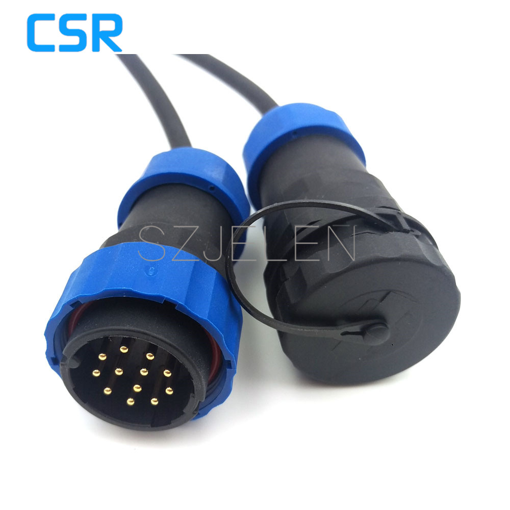 SD28TP-ZM, 12 pin waterproof connector ,IP67, Industrial machinery automation power cable connector 12pin plug and socket abb industrial connector four pole mobile industrial plug 63a 363p6