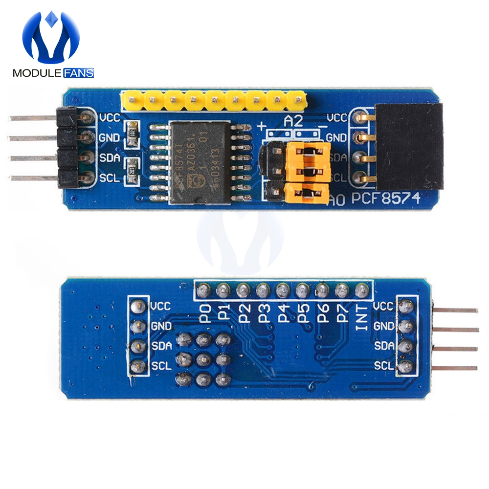I2C to PC LPT Adapter Blank PCB  GREAT for EDU  Qty1 Connect to LPT port.. new