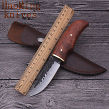 Hunting outdoor tactical combat fixed knife rescue survival portable practical knives K sheath pocket camping EDC tools OEM gift