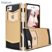 YIESOM For iPhone6 6S Cover Anti-slip Shockproof Armor Protective Shell Slim Non-slip Grip Rubber Bumper Case for iPhone 6 6S