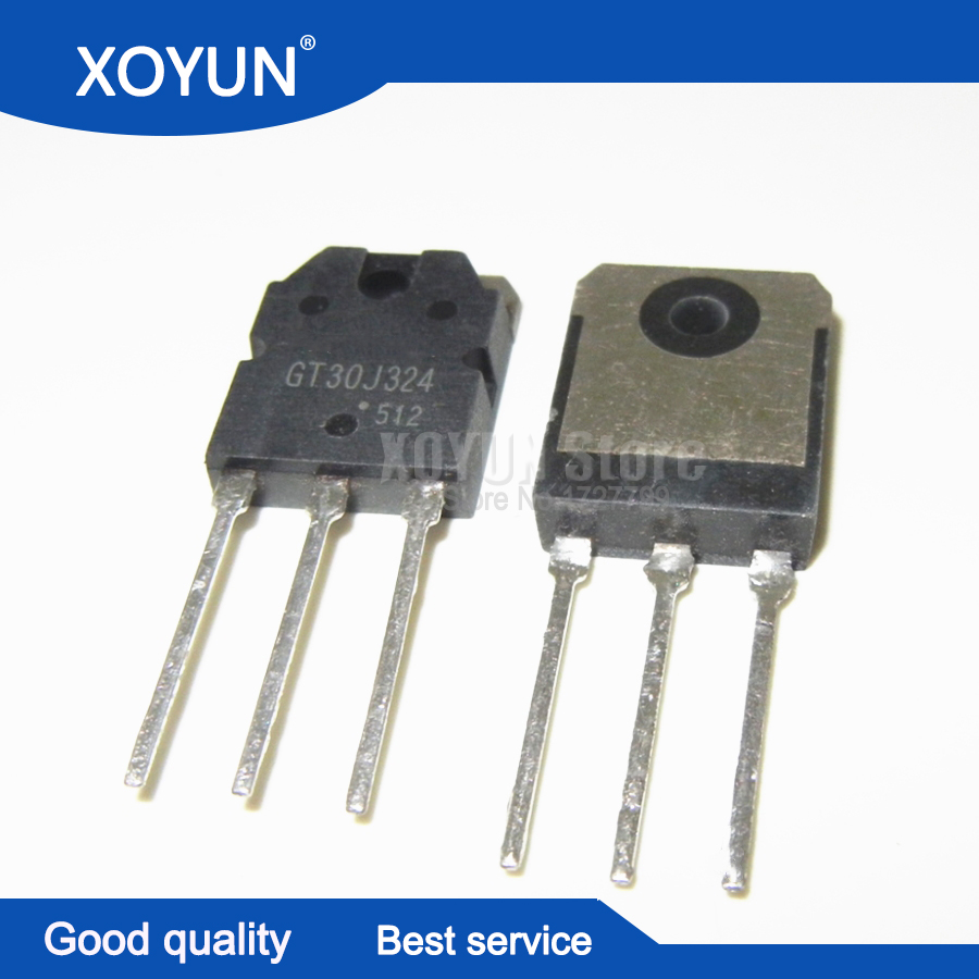 10PCS/LOT <font><b>GT30J324</b></font> TO-3P IGBT 600V30A image