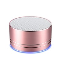 Portable Wireless Bluetooth Speaker Built in Mic Call AUX Line TF Card HD Sound Bass for Iphone X 8 Ipad Air Android Smartphone