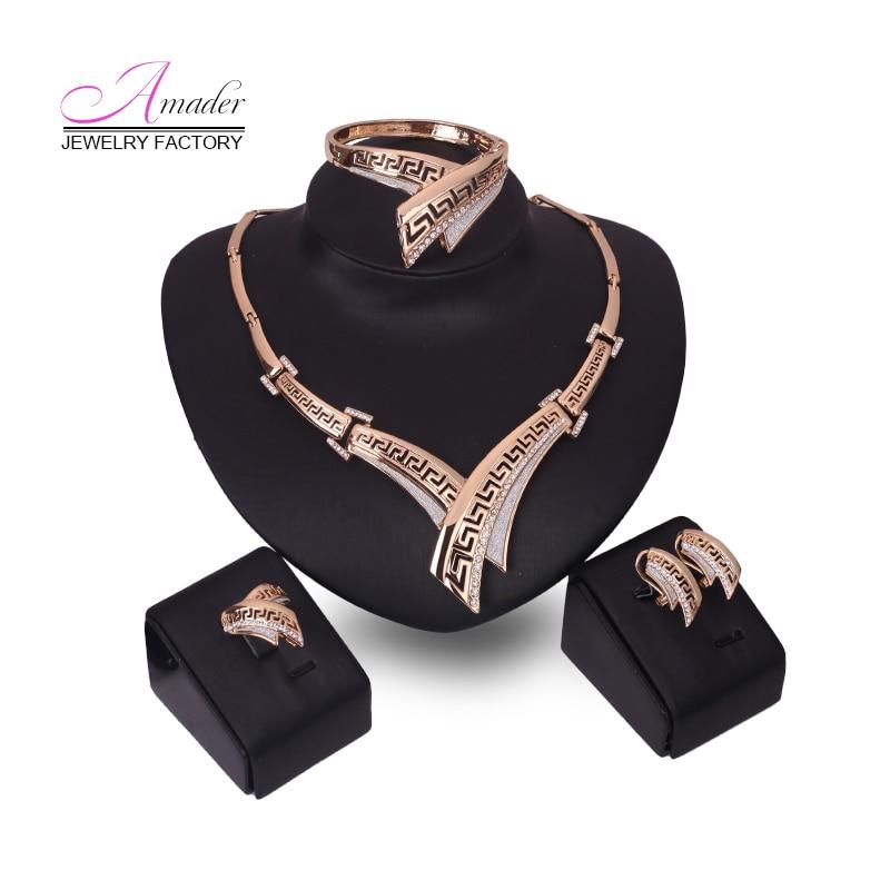 Amader Europe & America Sweet Fashion Vintage crystal Nuevo Collar - Bisutería - foto 1