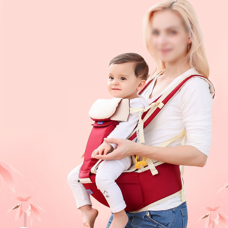 Baby Carriers Organic Cotton Carrier Backpack Ergonomic Baby Carrier Comfortable Wrap Sling Carrier Newborn