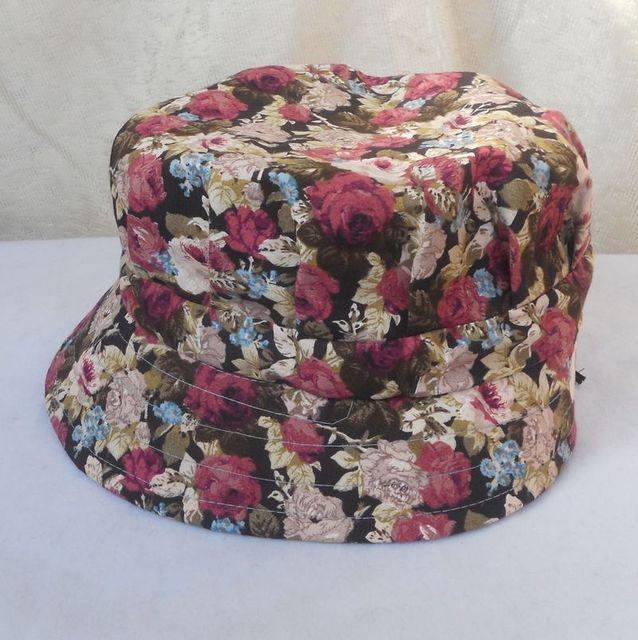 Spring and summer bucket hat bucket hats sunbonnet women's anti-uv hat quinquagenarian hat cap