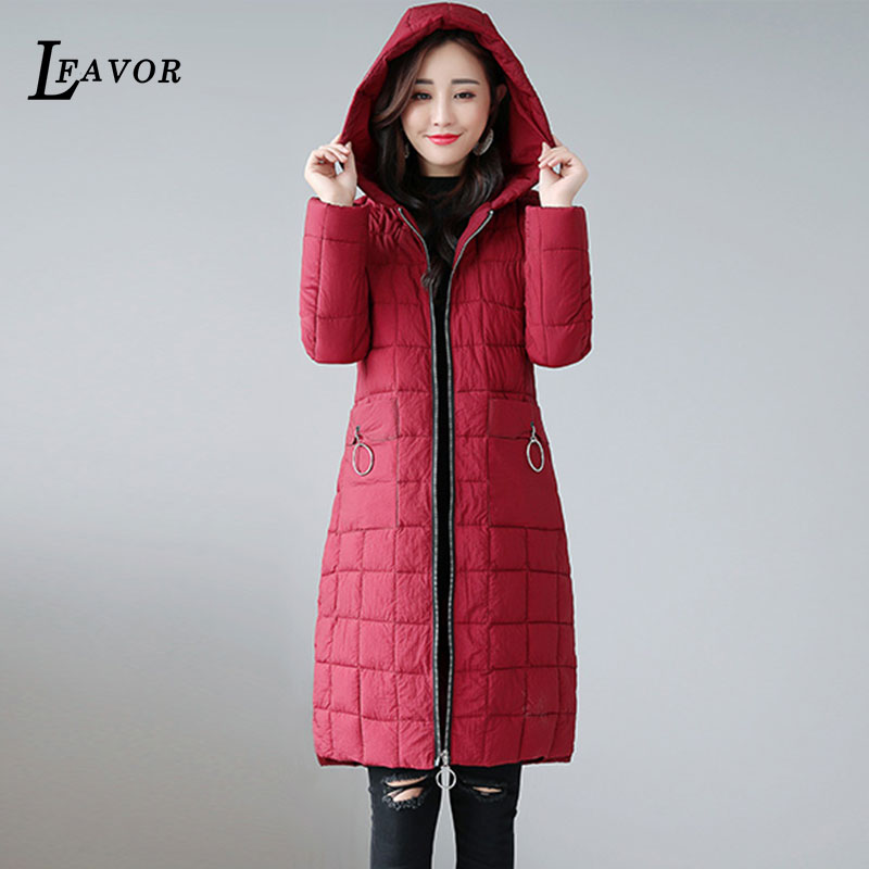 Jacket Winter Women Cotton Casual Colour Gray Slim caramel Coats Parka Thick dark Coat Down Black Large 2018 208 red Padded Ladies Female New Pocket CxIwEq0qOX