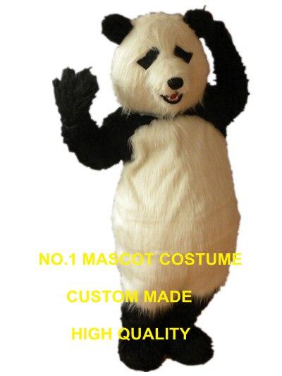 Плюшевая панда талисман костюм Панда талисман пользовательские Герой  мультфильма Косплей Карнавальный Костюм 3003 купить на AliExpress 9277528ef4172