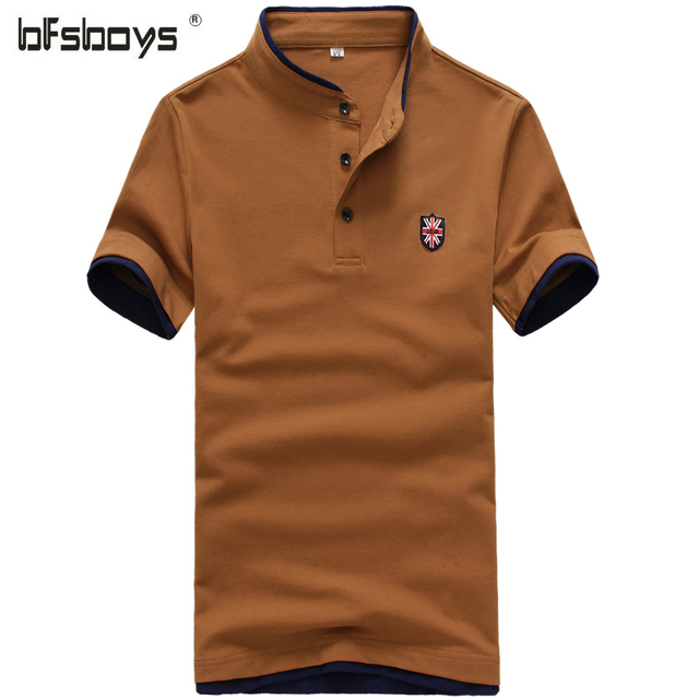 2016 new summer cotton short sleeve brand polo men clothing solid mens polo shirts business casual polo shirt breathable