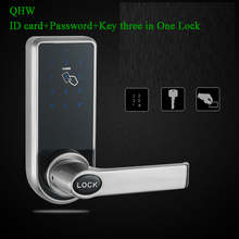 Smart Home Door lock RFID Lock Mechanical Digital Key tag/Card Code Password App Electric Handle Apartment Access