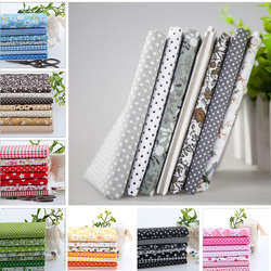 56pcs/lot 50*50 CM 100% Cotton Fabric Telas Tissus Cloth Patchwork Fabircs Fat Quarter Bundles Stoff Zum Nahen Sewing Fabrics