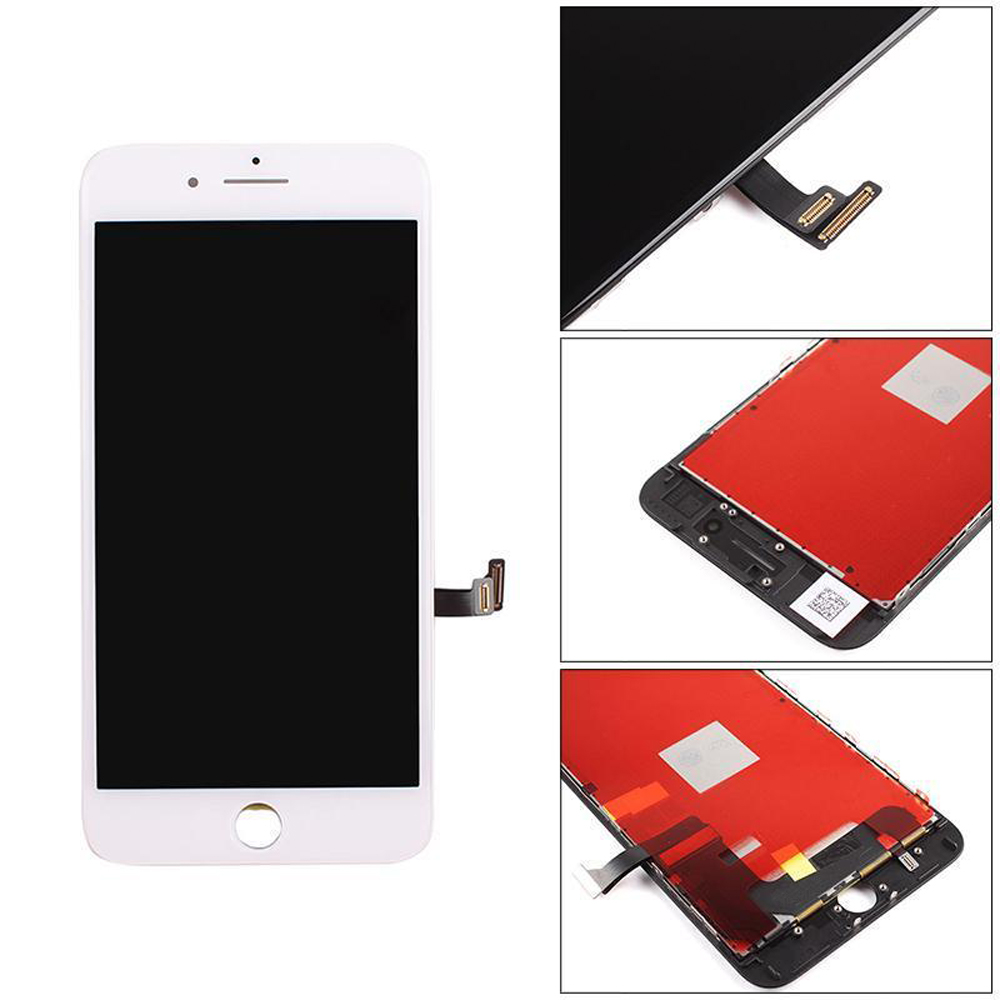 LCD Display + Screen Touch Digitizer + Frame Assembly for iPhone 7 Plus 5.5 white color