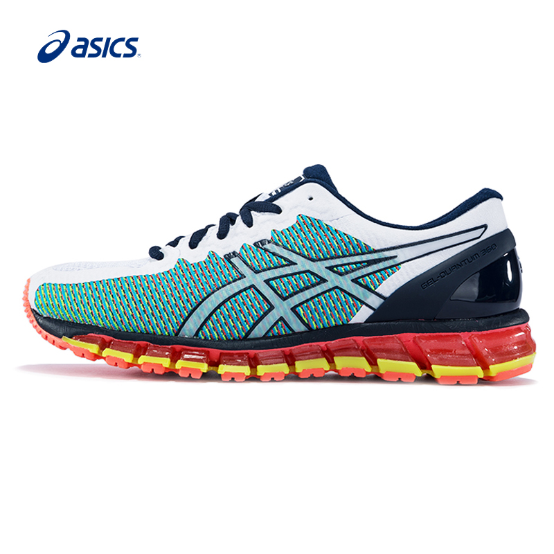 Original ASICS Men Shoes Colour-changing Breathable Hard-wearing Running Shoes Light Weight Sports Shoes Sneakers outdoor