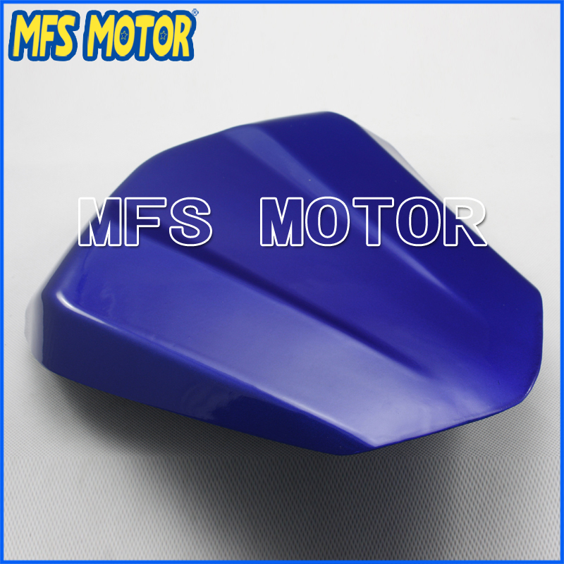 Motorcycle Accessories For YZF-R6 Motorcycle Rear Pillion All Blue Injection ABS Seat Cowl Cover For Yamaha YZF-R6 2006-2007