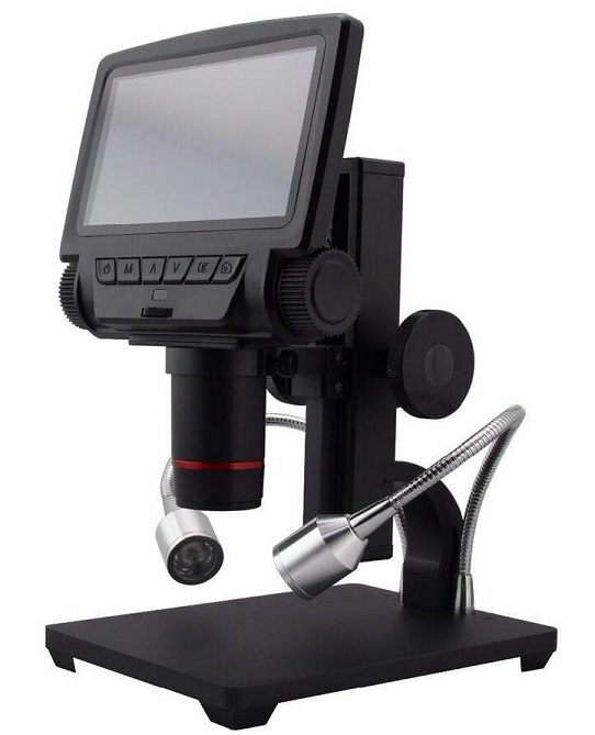2018 nouveau Andonstar 5 pouces écran HDMI Microscope numérique ADSM301 PCB outil de réparation USB Microscope