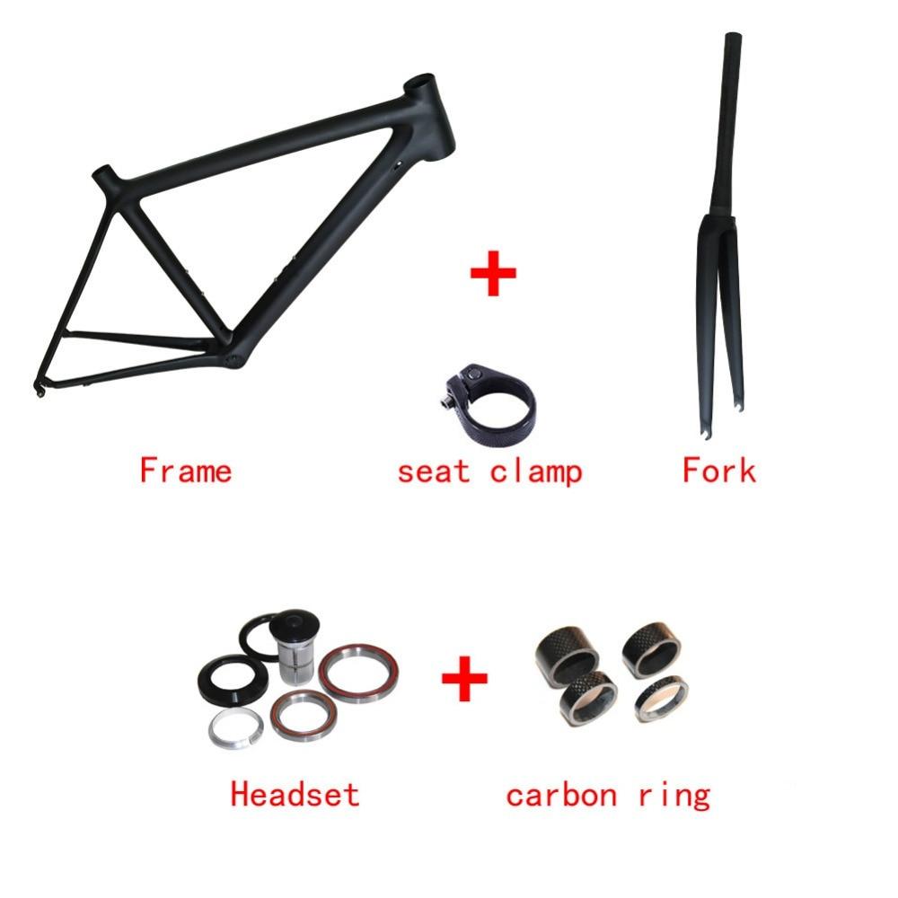 Only 780g Super light 700C Carbon Road Bike Frame T1000 UD Full Carbon Road Frame Racing Bicycle Frameset Size 50/53/55cm