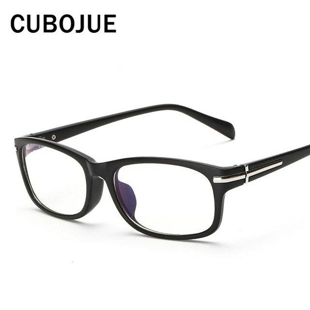 fae5d356b0 Cubojue Square Eyeglasses Men Female Optical Clear Lens Eyewear Frames for  Prescription Vintage Spectacles for Small Face Retro