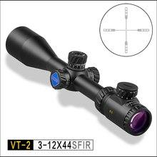 DISCOVERY OPTICS VT-2 3-12x44 SFIR optical sight tactical riflescope illumination reticle Locking turrets hunting rifle scope