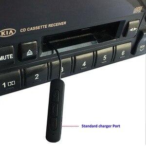 Image 4 - Многофункциональный автомобильный Bluetooth Кассетный адаптер, Bluetooth V4.1 музыкальный приемник адаптер с TF 4GB work во время зарядки, поддержка TF
